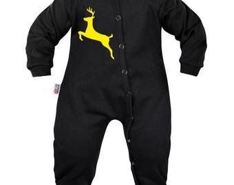 Baby Christmas Pajamas: reindeer