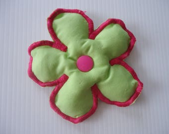 DETACHABLE FLOWER MY VALENTINE FOR WRAP OR HEADBAND LIME GREEN *.