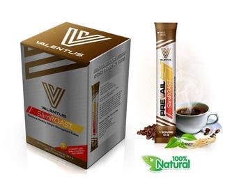 Valentus SlimRoast Slimming Weight Loss Coffee Italian Dark Roast FREE P&P