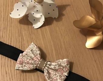 New collection 2017 headband is Navy blue hand and his bow tie