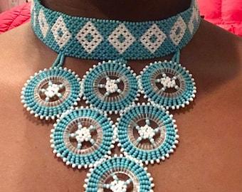 Zulu beaded necklace