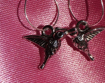Hummingbird earrings