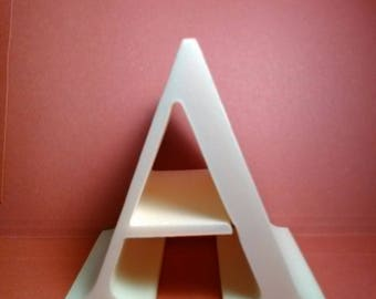Styrofoam letter cutout model CENTURY; all letters available