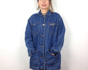 Ralph Lauren blue denim shirt jacket