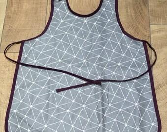 Cotton coated 3/6 years child/kitchen/craft/school/gardening apron