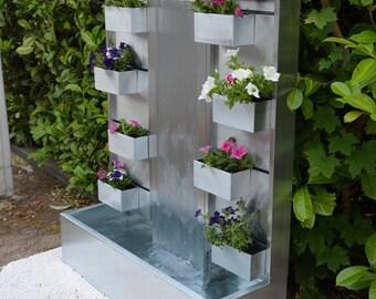 Zinc, zinc, NIRVANA Misterzinc garden water wall fountain