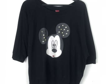 Rare!!! Disney Mickey Mouse Pullover Big Picture
