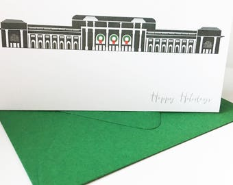 Washington DC Union Station Holiday Card A2