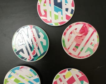 Pop Socket Decal for Phone Grip Decal for Pop Socket Holder Decal for Popsocket Decal Monogram Sticker - DECAL ONLY Pop socket not included!