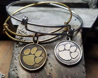 Clemson Tigers, Clemson Bracelet, Jewelry, Bracelet Stack
