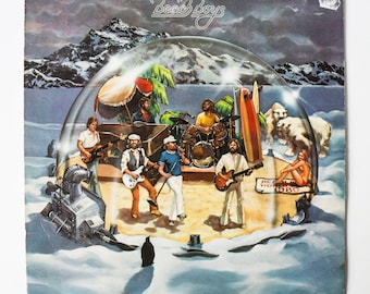 The Beach Boys - Keepin' The Summer Alive / Vinyl Record LP Music Album / 1980 Pop Rock with Brian Wilson Sunshine Brothers