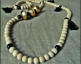 "Chic ""diamond"" necklace"