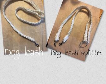 Dog leash and splitter