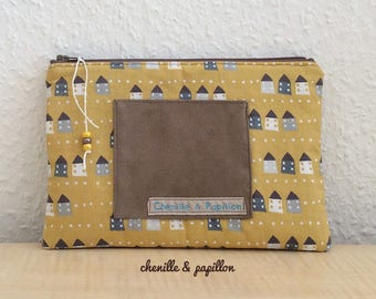 Elegant bag clutch bag - travel case - pouch