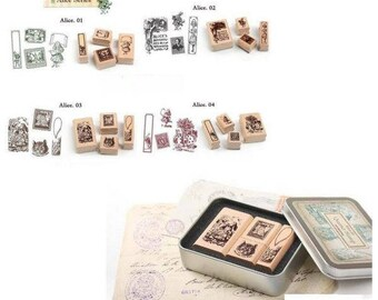 Alice collection full stamps