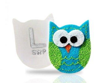 2 Owl XRAY MARKERS, Made to Order, Your Initials, Great for PD