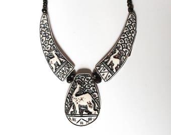 Handmade Camel Bone Necklace