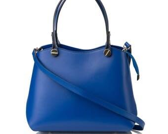 Leather bag for women handmande