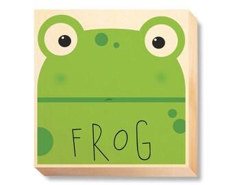 "Children's Art ""Frog Muzzle"""