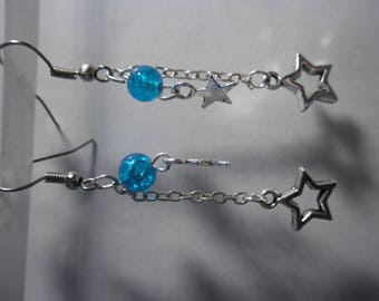 pair of Star earrings