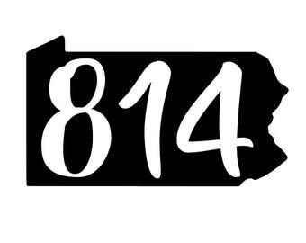 Area Code Etsy - 814 area code