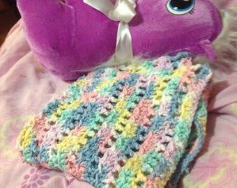 Little Pastel Lovey Blanket