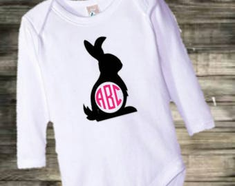 Baby girls easter bodysuit