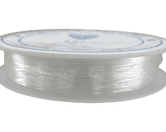 7 meters wire 0.7 mm crystal color nylon coil