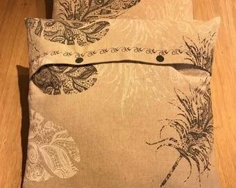 Set of 2 cushions Hawk