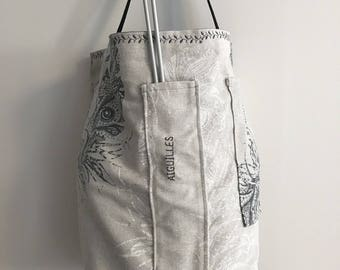 Large knitting bag