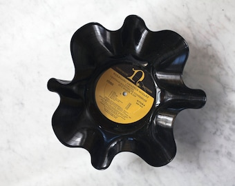 Vinyl Record Catch-All Bowl