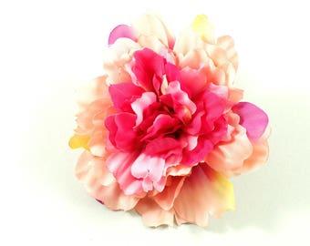 Artificial flower stem 11.5 cm - fuchsia