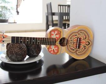Hand painted ukulele