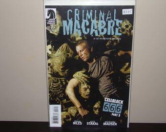Criminal Macabre  #3   Dark Horse Comics