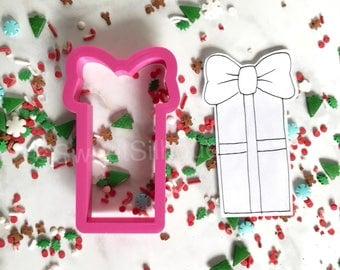 Present Stick Cookie Cutter