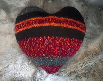Cushion heart pillow heart
