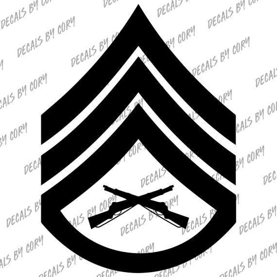 U.S.M.C O-1 SECOND LIEUTENANT OFFICER'S RANK DECAL