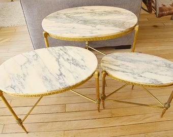 table de marbre etsy. Black Bedroom Furniture Sets. Home Design Ideas