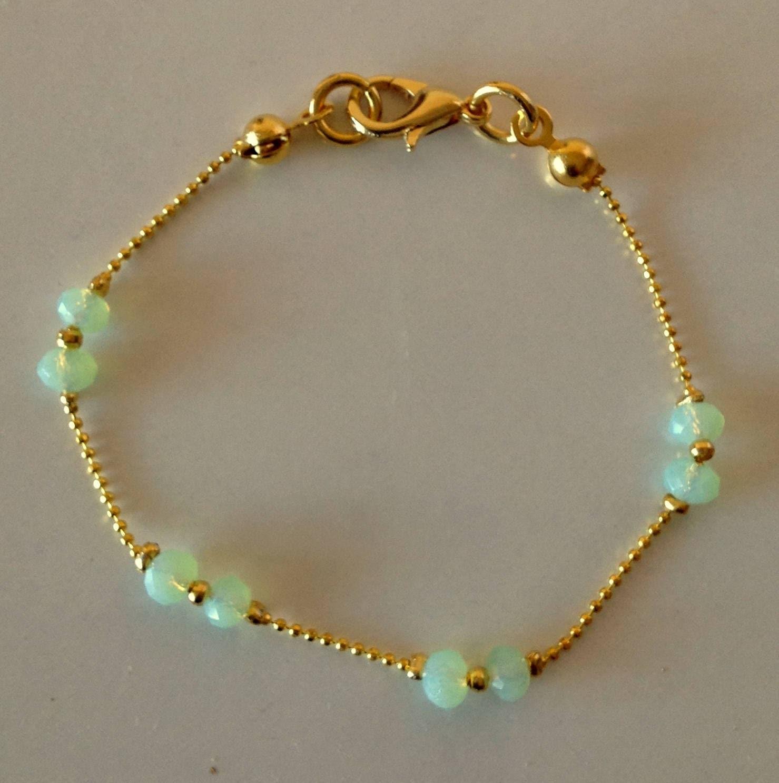 FREE SHIP crystal bracelet women bracelet crystal gold filled