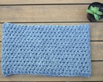 Crochet Cowl Neck Scarf - Cowl Neck Scarf - Crochet Scarf - Fall Scarf - Winter Scarf