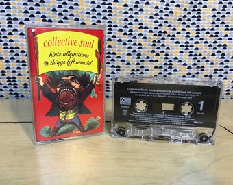 Collective Soul  - Hints Allegations and Things Left Unsaid- Cassette tape - 1993 Atlantic Records