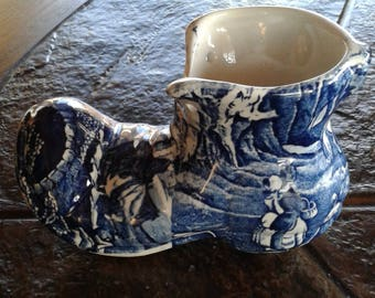 Vintage Old Foley boot/shoe bone china collectible