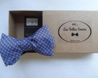 Samuel cotton fabric tied bow