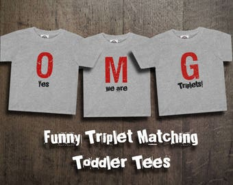 Triplet Nursery Art Triplet Baby Gift We Made A Wish And