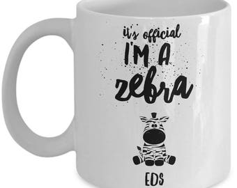 Ehlers Danlos mug, EDS novelty gift, EDS, Illness, Invisible Illness, Rare disease, EDS gift, For him, For her, Awareness
