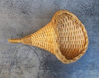 Cornucopia Wall Basket