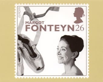 20th Century Women of Achievement, British Royal Mail postcards.