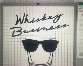 Risky whiskey business shirt