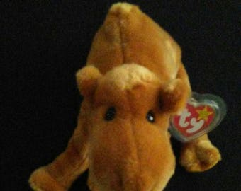 Ty Retired Beanie Buddy HUMPHREY The CAMEL Second-Generation Tush Tag.
