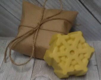 Marshmallow Snowflake Body Butter Bars